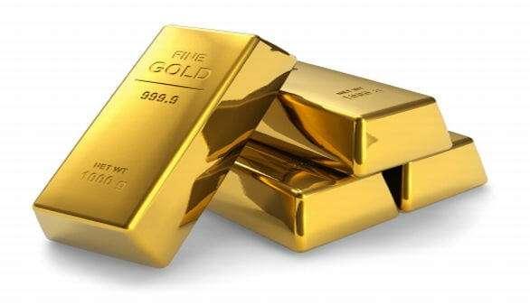 Goldbarren aus Südafrika