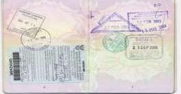 Südafrika Visum