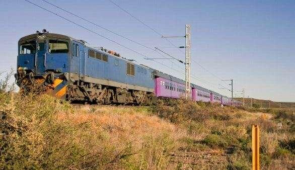 Zugfahren in Südafrika
